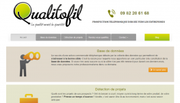 créateur de site : le site de QUALITOFIL